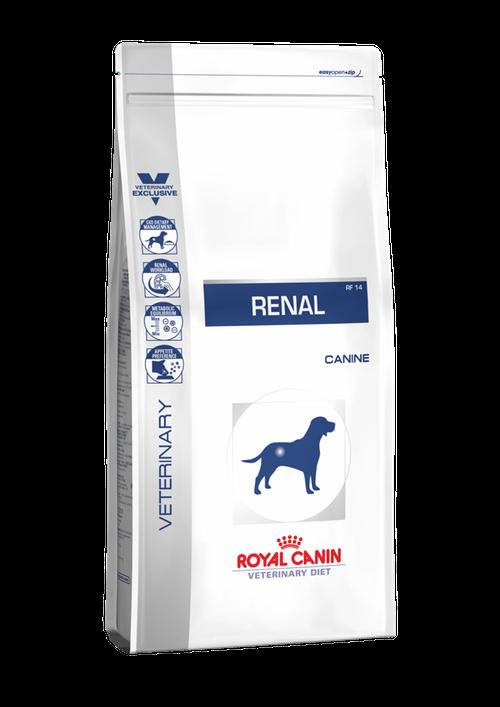 Корм для собак при хронической почечной недостаточности Royal Canin Renal, 2 кг