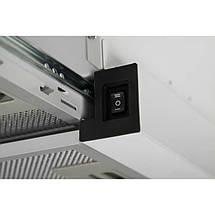 Вытяжка VENTOLUX GARDA 60 WH (800) LED, фото 3