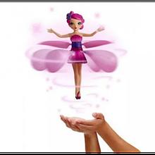 Игрушка фея кукла летающая от руки Flying Fairy с USB