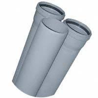 Труба ПВХ внутренняя ᴓ110 мм - 0,50м