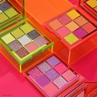 Тени для век Huda Beauty Neon Obsessions Palettes 9 цветов
