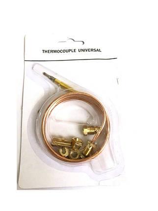 Термопара универсальная (universal) для газа 150см-30mv-60sec, фото 2