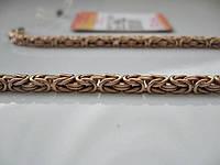 Мужские браслеты Кардинал, Кукуруза, Византийское, Миланское плетение ЗОЛОТО 585 пробы