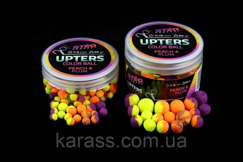 STEG Upters Color Ball Peach&Plum 11-15 mm