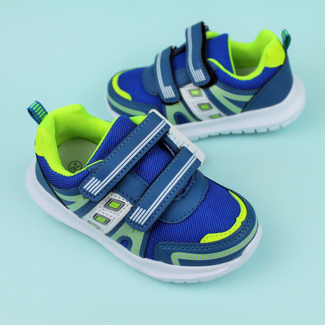 Детские кроссовки для мальчика синие Том.м размер 21,22