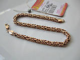 Браслет плетение КАРДИНАЛ - 16.01 грамма 22.5 см. Золото 585 пробы, фото 8