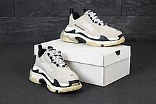 Женские кроссовки в стиле Balenciaga Triple S Vanille, фото 2
