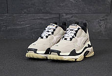 Женские кроссовки в стиле Balenciaga Triple S Vanille, фото 3