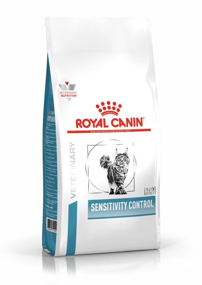 Сухой корм Royal Canin Sensitivity Control для лечения пищевой аллергии/непереносимости у кошек 400 г