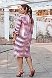 Стильное платье свободного покроя р. 52,54,56,58!, фото 2