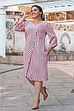 Стильное платье свободного покроя р. 52,54,56,58!, фото 3