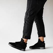 "Кроссовки Adidas Tubular Invader Strap ""All Black"", фото 3"