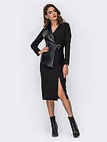 Платье черное длинное повседневное 44 46 48 50