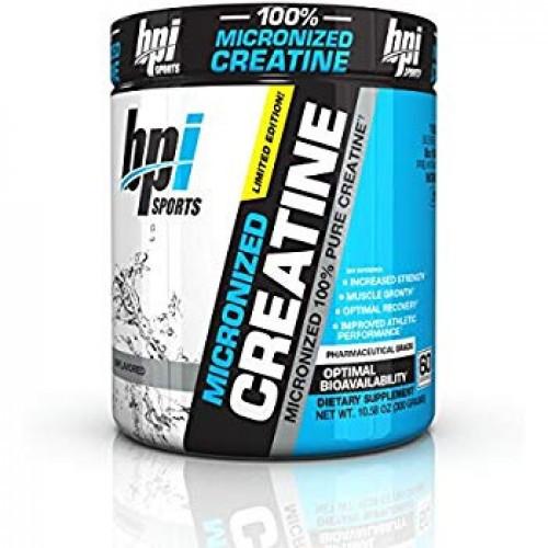BPI sports MICRONIZED CREATINE 300g. Creatine Monohydrate Креатин Моногидрат