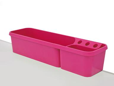 Пенал для карандашей навесной Pink (25 мм)