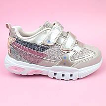 Cветящиеся детские кроссовки для девочки тм Bi&Ki размер 30, фото 2