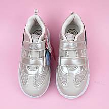 Cветящиеся детские кроссовки для девочки тм Bi&Ki размер 30, фото 3