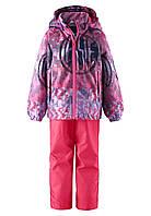 Демисезонный комплект (ветровка+штаны) для девочки  Lassie Kostja 723742-5112. Размер 104.