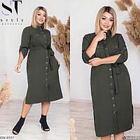 Платье-Рубашка BW-8557