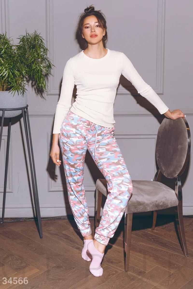 Нежная, теплая женская пижама XS S M L