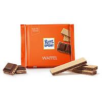 Шоколад молочный RITTER SPORT WAFFEL хрустящая вафля 100г