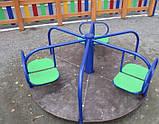Детские качели карусели Три Лепестка, фото 2
