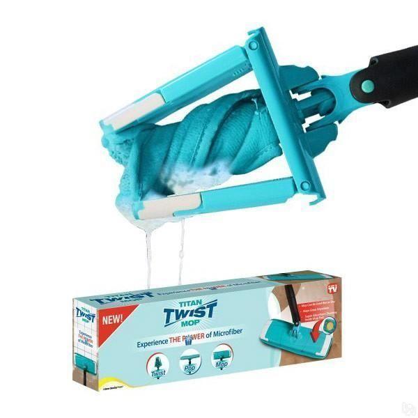 Универсальная швабра Titan Twist Mop для влажной уборки