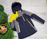 Весенние детские куртки для мальчиков рост от 140 до 164