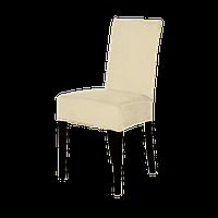 Накидки на стулья велюровые, набор 6 шт(Турция), Жемчуг