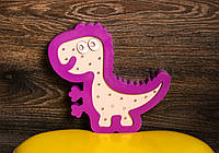 Детский ночник из дерева динозавр светильник нічник світильник дитячий