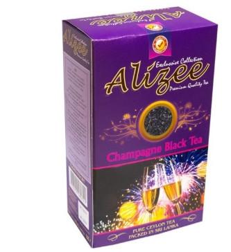Чорний чай Алізе Бризки шампанського листової 100 грам