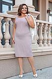 Женский элегантный костюм платье+пиджак от50-до56р.(5расцв), фото 5