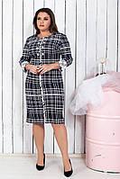 Красивое женское платье красиво подчеркивает фигуру от50 до56р.