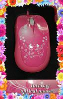 Компьютерная мышь Розовый гламур, фото 1
