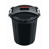 Рефьюз Відро-контейнер для сміття з кришкою 46л (HDR-1463)