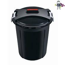 Відро-контейнер для сміття з кришкою 75л, d55 h65 Heidrun Refuse (HDR-1465)
