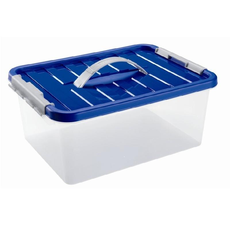 Ящик пластиковый с ручкой 5л Heidrun ClipBOX, 29*19*14см (HDR-1631)