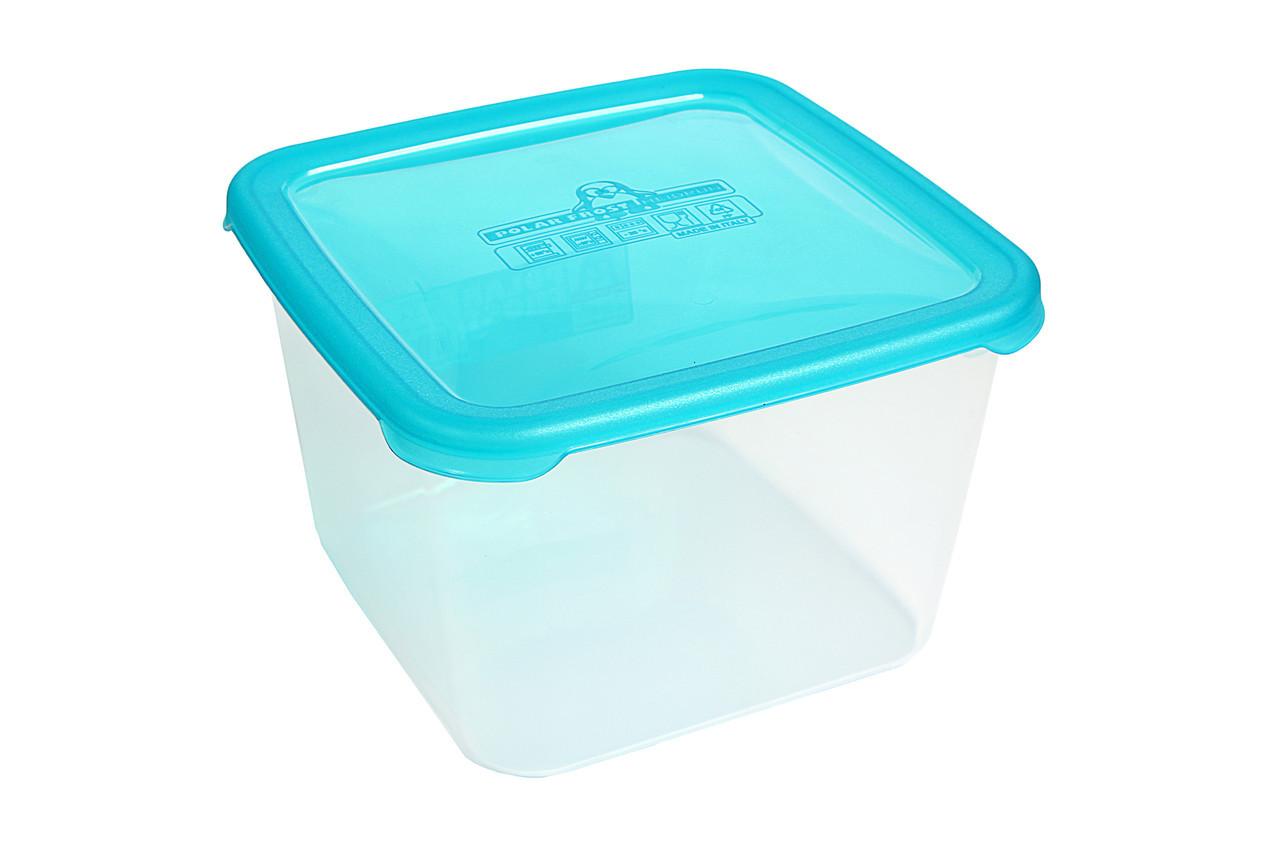 Контейнер для хранения в морозилке 3,4л Heidrun PolarFrost 19,5*19,5*12,7см (HDR-1766)
