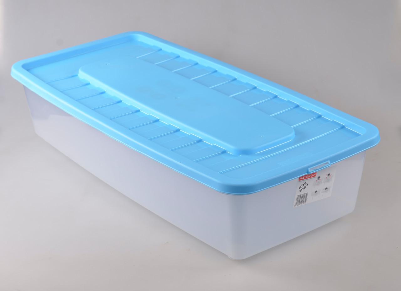 Ящик под кровать Heidrun Boxmania 35л 78*37*18см (IG-1561)