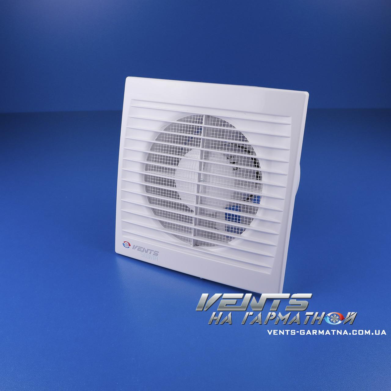 Вентс 125 Силента-С Т (с таймером). Бытовой вытяжной вентилятор