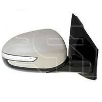Зеркало правое KIA SPORTAGE 15- (QL) электрическое обогрев электрическое электросклад. выпукл. +ук. пов. -подсвет (FPS). FP4037M02