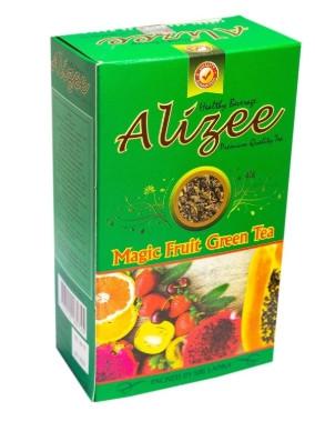 Зеленый чай с экзотическими фруктами Ализе Мэджик Фрут 100 грамм