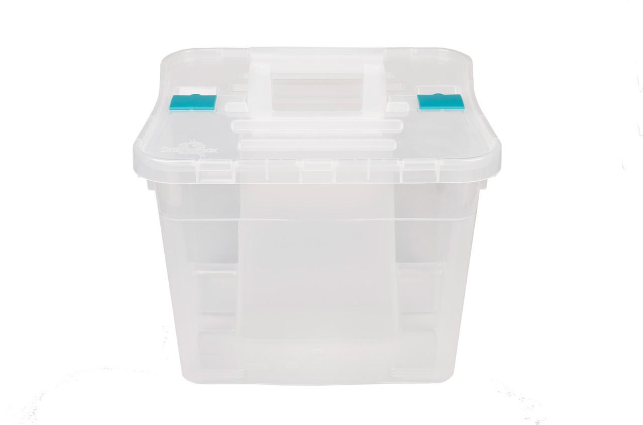 Ящик пластиковый с двумя отделениями, Heidrun Caddy 38*35*36см (IN-1637)