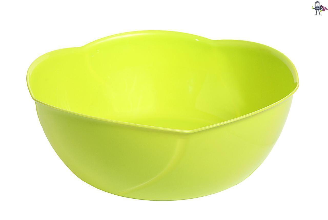 Салатник пластиковый Heidrun Kitchen Mix, d24*h10cм (арт.К-134)