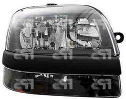Фара правая Fiat Doblo -04 электрокорректор H1+H1+H7+PY21W+W5W (DEPO)