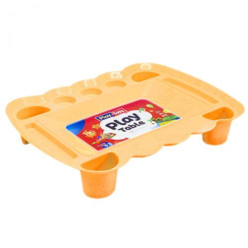 Игровой столик для песка и пластилина (оранжевый) PT 4164
