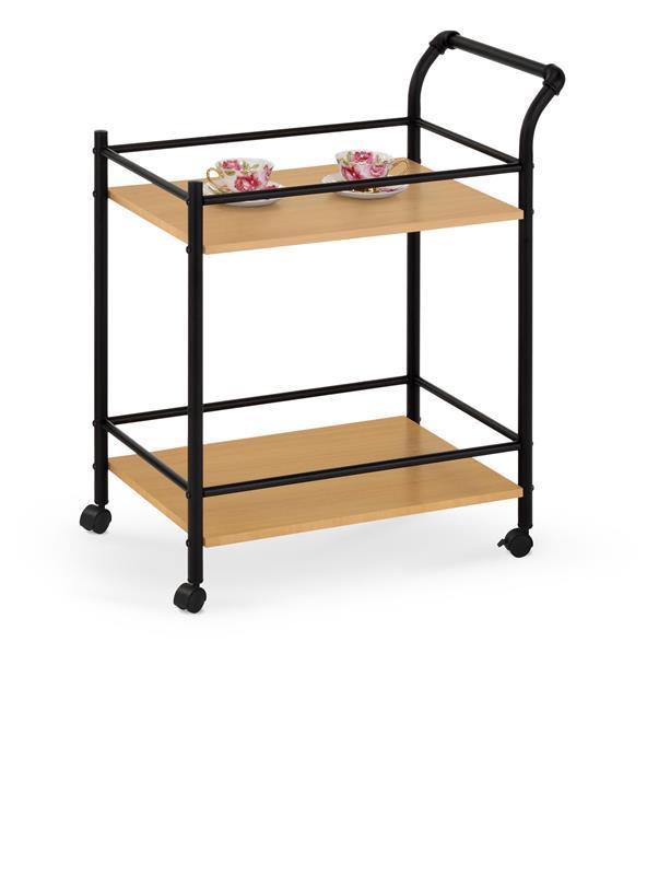 Барный столик BAR 12 дуб/черный (Halmar)