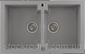 Кухонная мойка Kernau KGS A 80 2B GREY METALLIC