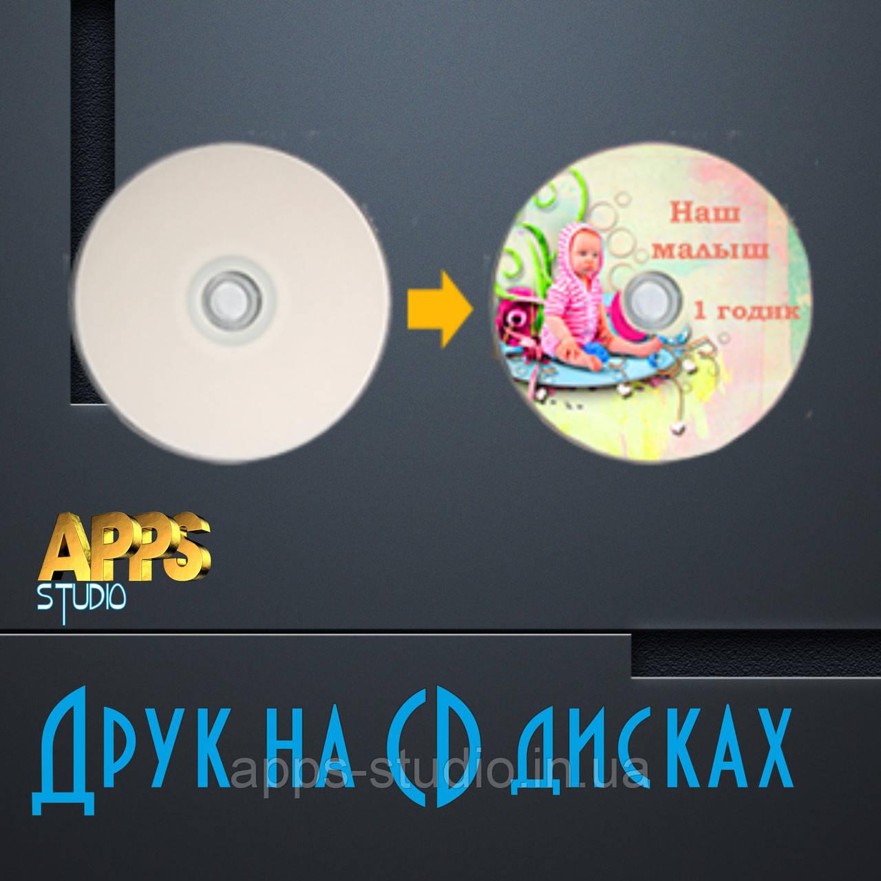 Друк на CD дисках