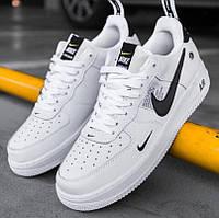Женские кроссовки Nike Air Force Low TM White белые 1в1 Как Оригинал! Найк аир форс ТОП (ААА+)